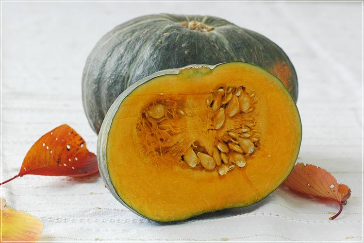 [有機栽培] かぼちゃ(1玉)1kg前後