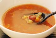 五穀と野菜のトマトスープ