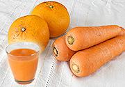 【春の味覚を楽しむ】ジュース用にんじん(5kg)と甘夏みかん(1kg)のセット