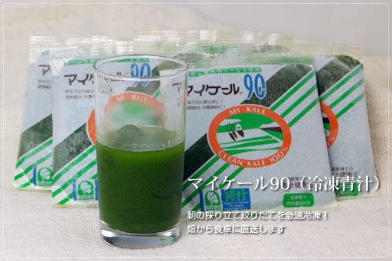からだ元気ですか?毎日続ける習慣作りに 冷凍ジュース