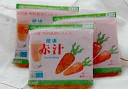 健康赤汁(冷凍人参ジュース)