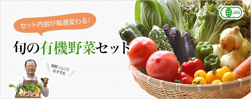 旬の有機野菜セット